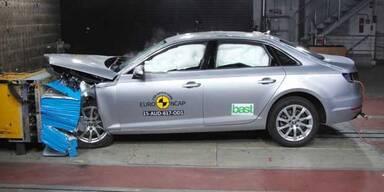 Audi A4, Honda HR-V & Co. im Crashtest