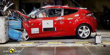 Euro NCAP-Crashtest: Elfmal fünf Sterne
