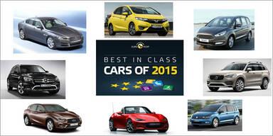 Die sichersten Autos des Jahres