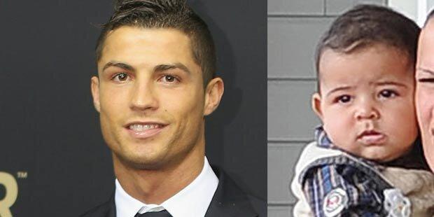 Ronaldo: Natürlich wechsle ich Windeln