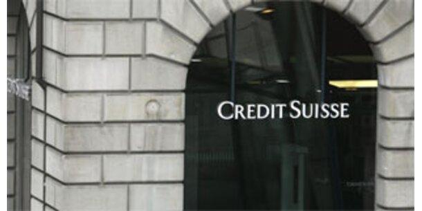 Credit Suisse schreibt 5,4 Mrd Euro Verlust