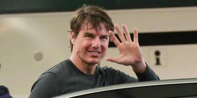 Tom Cruise bei der U-Bahn Station Schottenring
