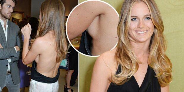 Cressida Bonas zeigt sexy Sideboob