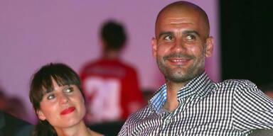 Guardiola heiratete heimlich in Spanien