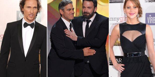 Affleck & Clooney auf Kuschelkurs