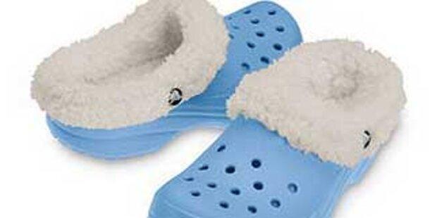 Crocs hat jetzt Wintertreter mit Felleinsatz