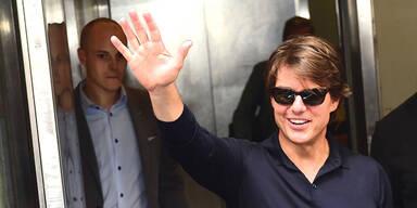 Tom Cruise sorgt für Verkehrschaos in Wien