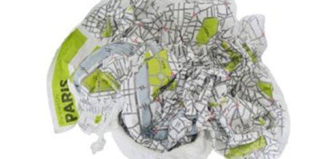 Der Stadtplan darf jetzt zerknüllt werden