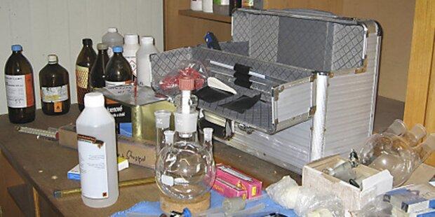 Polizei hob Crystal-Meth-Labor in Linz aus