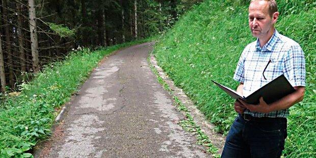 Wanderwege wegen Nazi-Teer krebserregend