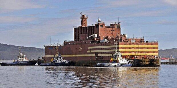 Das ist das erste schwimmende Atomkraftwerk der Welt