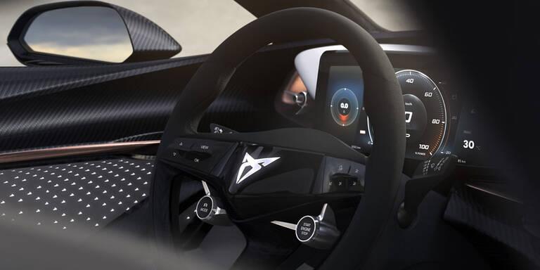 E-Auto von Cupra mit High-Tech-Cockpit