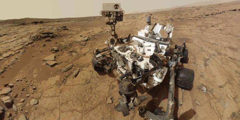 Mars-Rover schon wieder lahmgelegt