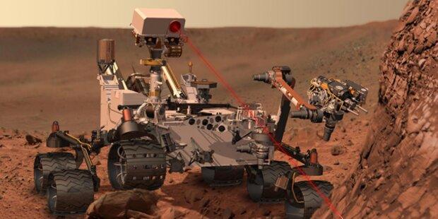 Landung des Marsrovers