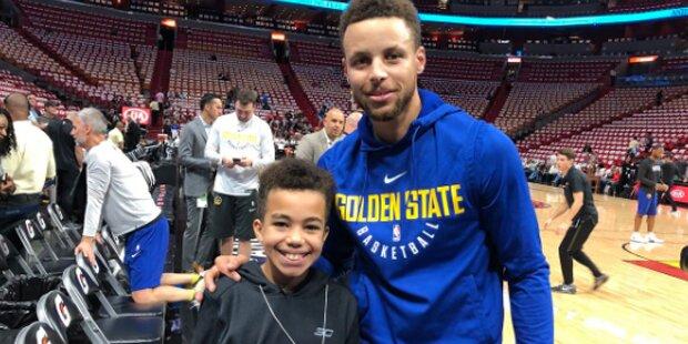 NBA-Star Curry traf Fan wegen Video