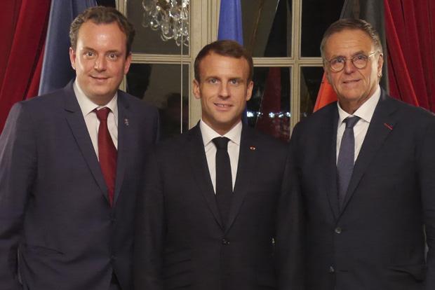 Emmanuel Macron, Michael Mack, Roland Mack