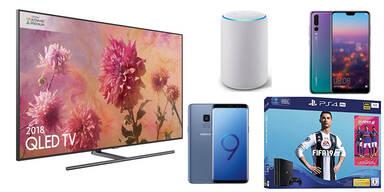 Galaxy S9, PS4 Pro & QLED-TV zum Kampfpreis