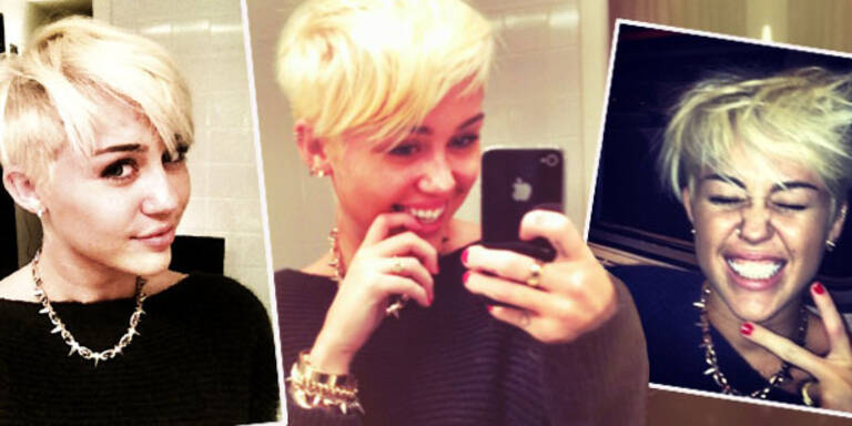 Cyrus: Mut zum frechen Kurzhaarschnitt