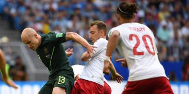 1:1 Australien-Dänemark endet remis