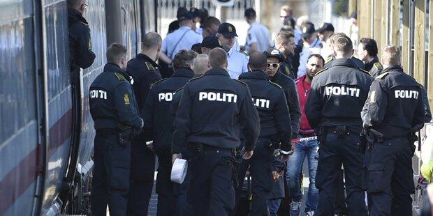 Dänen stoppen Züge von und nach Deutschland