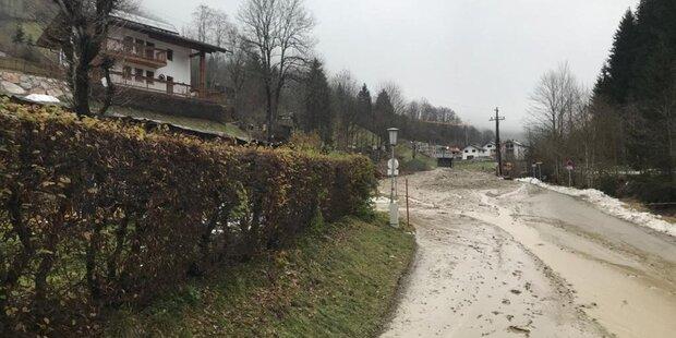 Thumersbachstraße für Anrainer befahrbar