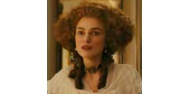 Keira Knightley's Kostüm-Spaß