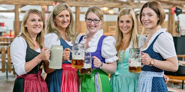 Hendln, Bier und Festzeltstimmung