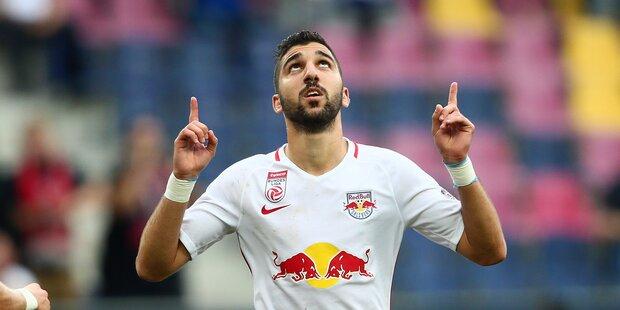 Salzburg gegen Mattersburg