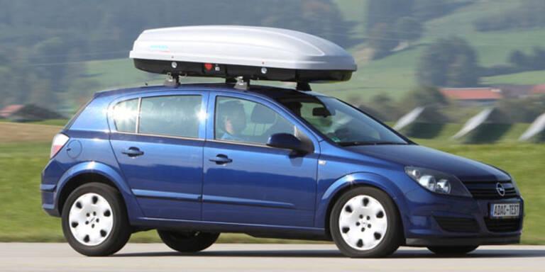 Dachboxen für den Skitransport im Test