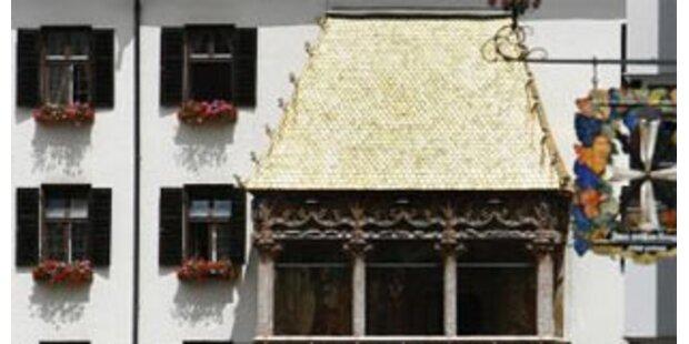 Schindel vom Goldenen Dachl gestohlen