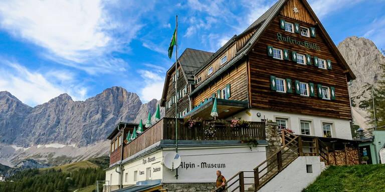 Hüttenwirt am Dachstein via willhaben gesucht