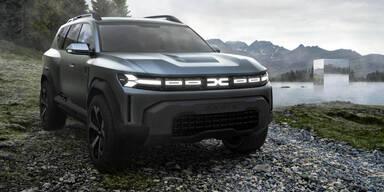 Dacia bringt großes SUV im coolen Look