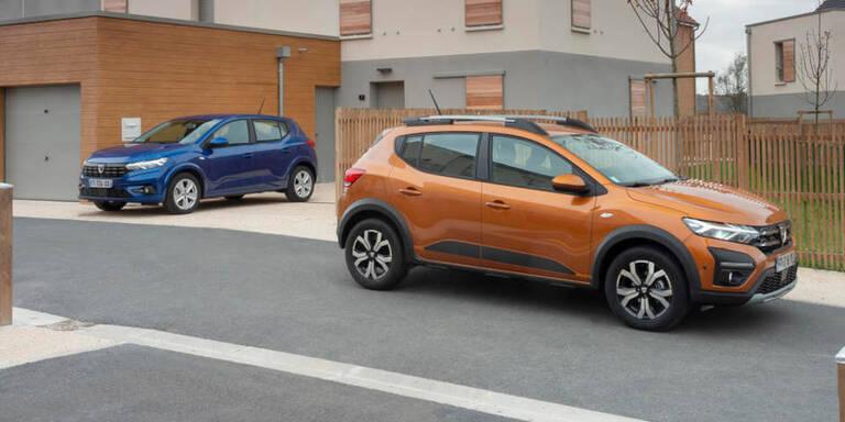 Neuer Dacia Sandero bleibt billigstes Auto Österreichs