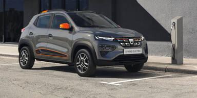 Dacia Spring Electric wird günstigstes Elektroauto
