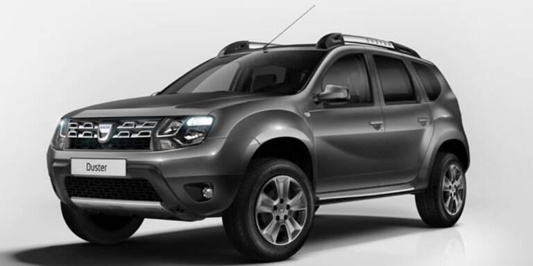 Dacia verpasst dem Duster ein Facelift