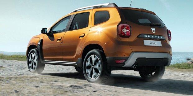 Dacia Duster 2018 Farben >> Alle Infos vom neuen Dacia Duster 2018