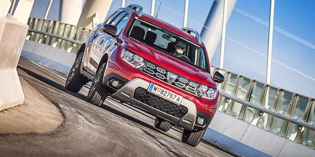 Dacia Duster mit modernem Einstiegs-Benziner