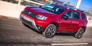 Dacia Duster setzt seinen Erfolgslauf fort