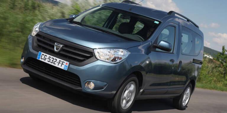 Start für den neuen Dacia Dokker