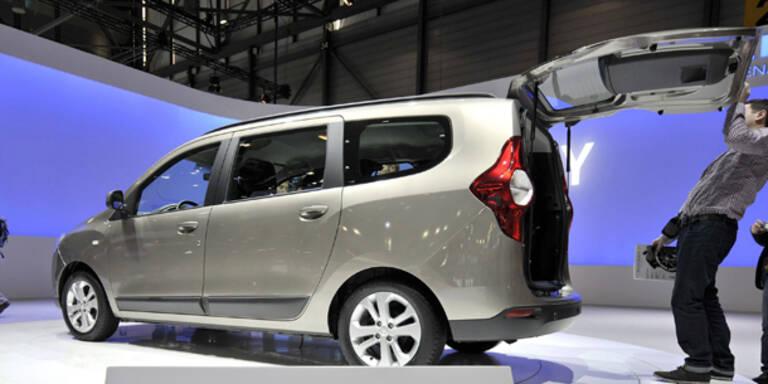 Dacias Billig-Van Lodgy kostet nur 9.990 Euro