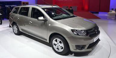 Dacia stellt den neuen Logan MCV vor