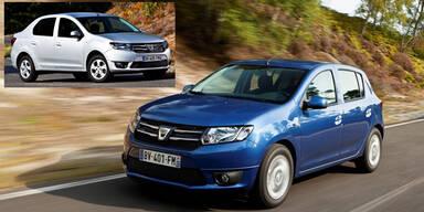 Dacia zeigt neuen Sandero und Logan