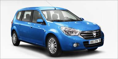 Modelloffensive bei Renault-Tochter Dacia