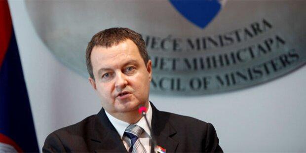 Serbien will Teilung des Kosovo
