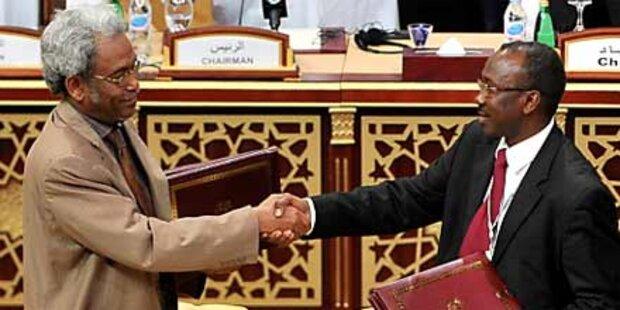 Darfur: Waffenstillstand unterzeichnet