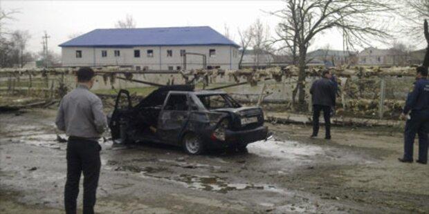 12 Tote bei Doppelanschlag in Dagestan