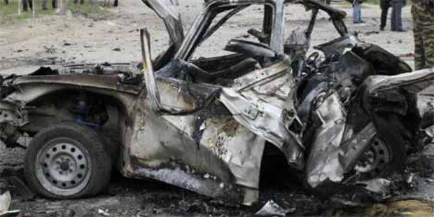 Zwei Tote bei Autoexplosion in Dagestan