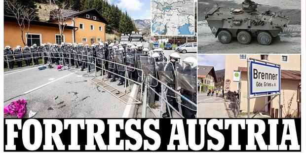 Brenner dicht: Österreich schockt Europa
