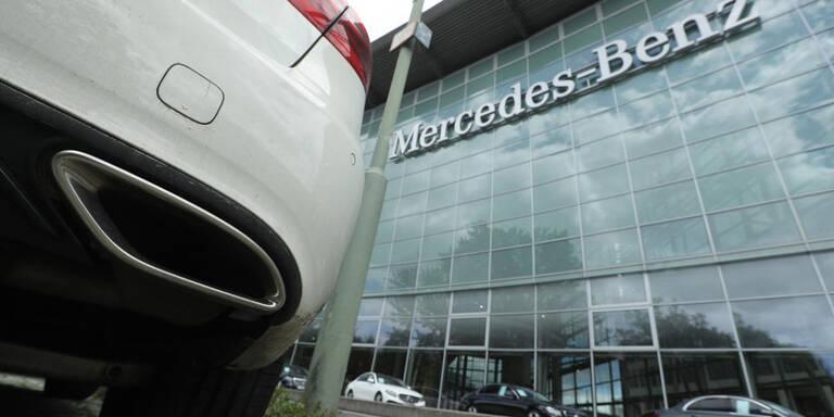 Daimler muss europaweit 774.000 Fahrzeuge zurückrufen