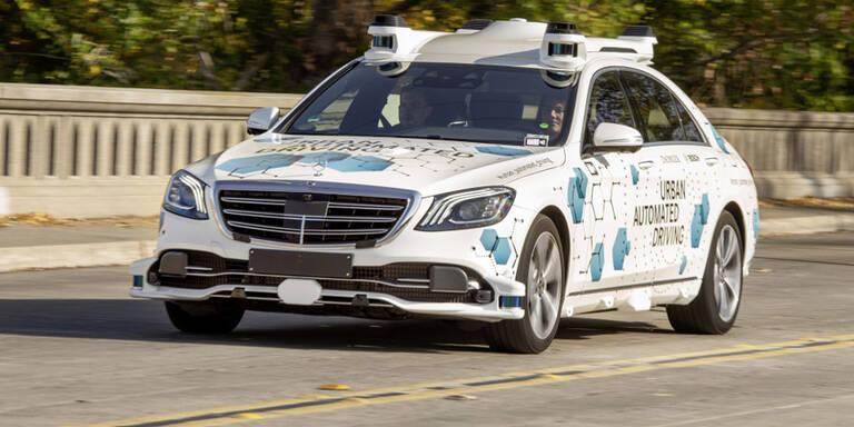Robo-Taxis von Bosch & Mercedes gestartet